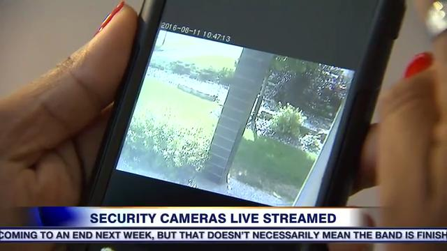 Dozens of security cameras exposed by hacker app