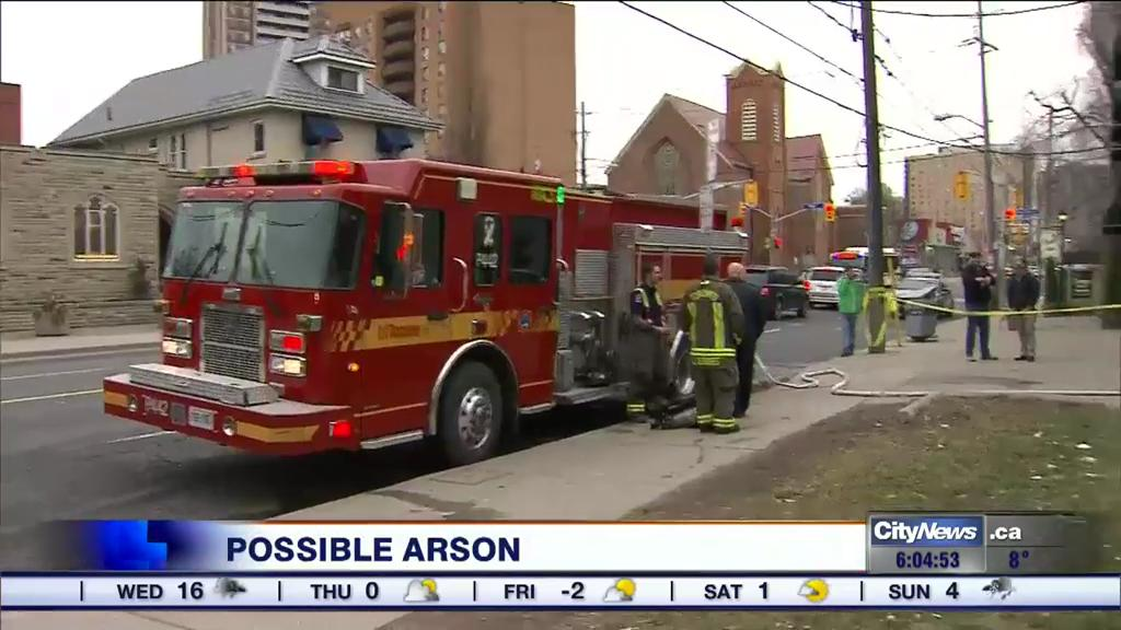 Man charged with 3 counts of arson after Masonic Lodge fire
