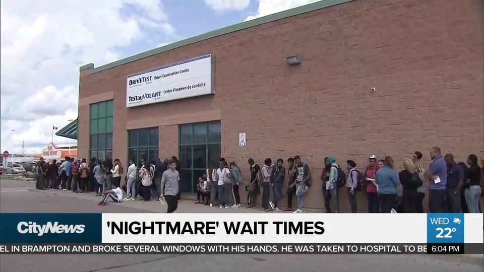 Newmarket Drive Test Centre >> Video Nightmare Wait Times At Brampton Drivetest Examination Centre
