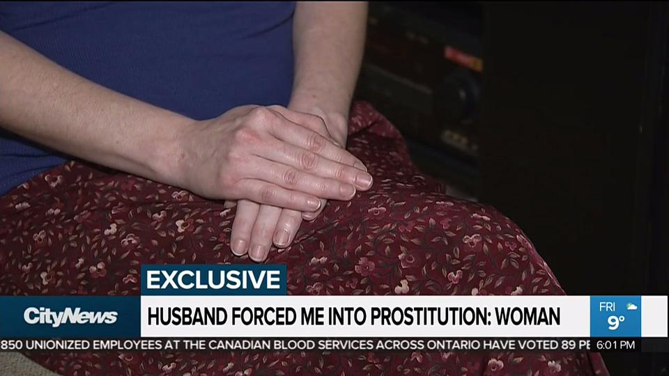 Husband forced to join in sex
