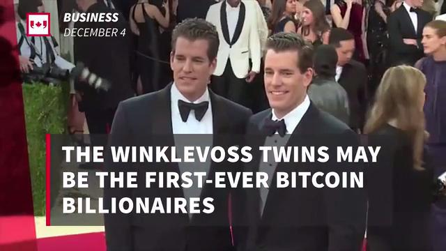 Winklevoss twins could be first bitcoin billionaires