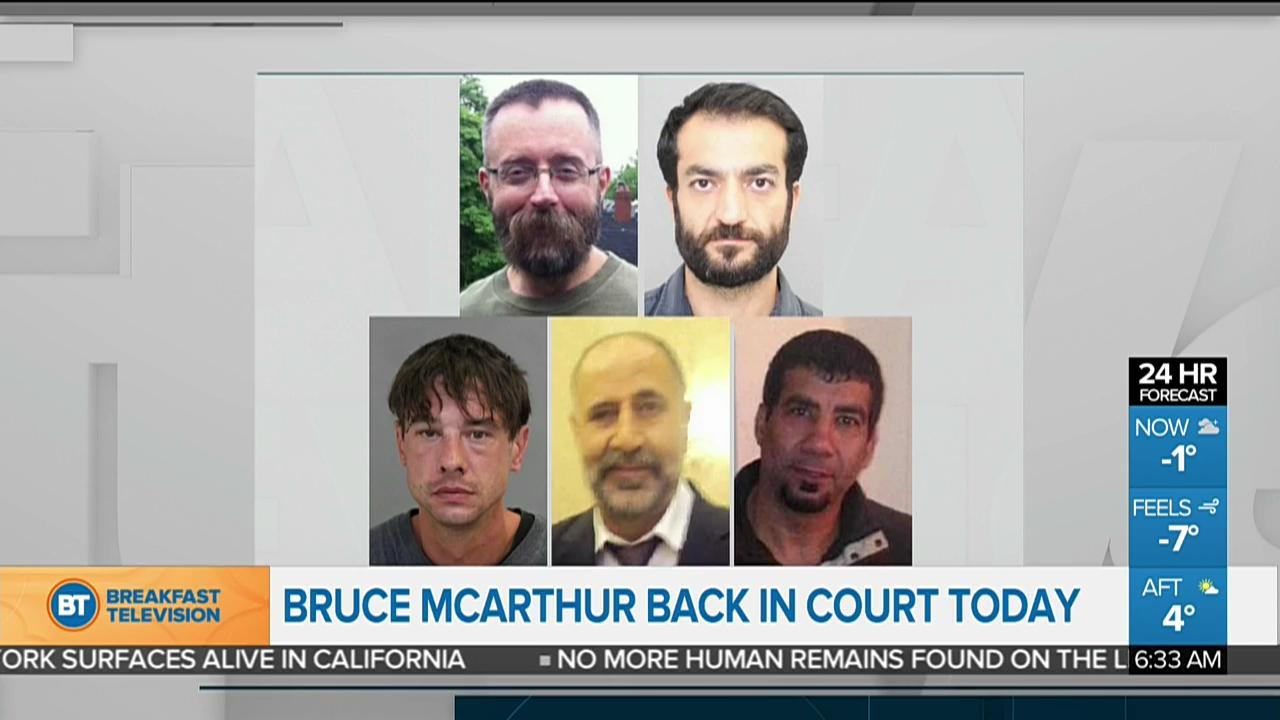 Top stories: Bruce McArthur court appearance; Boutin threatened after bronze win
