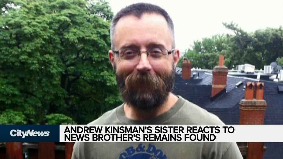 Andrew Kinsman's sister reacts to news brother's remains found