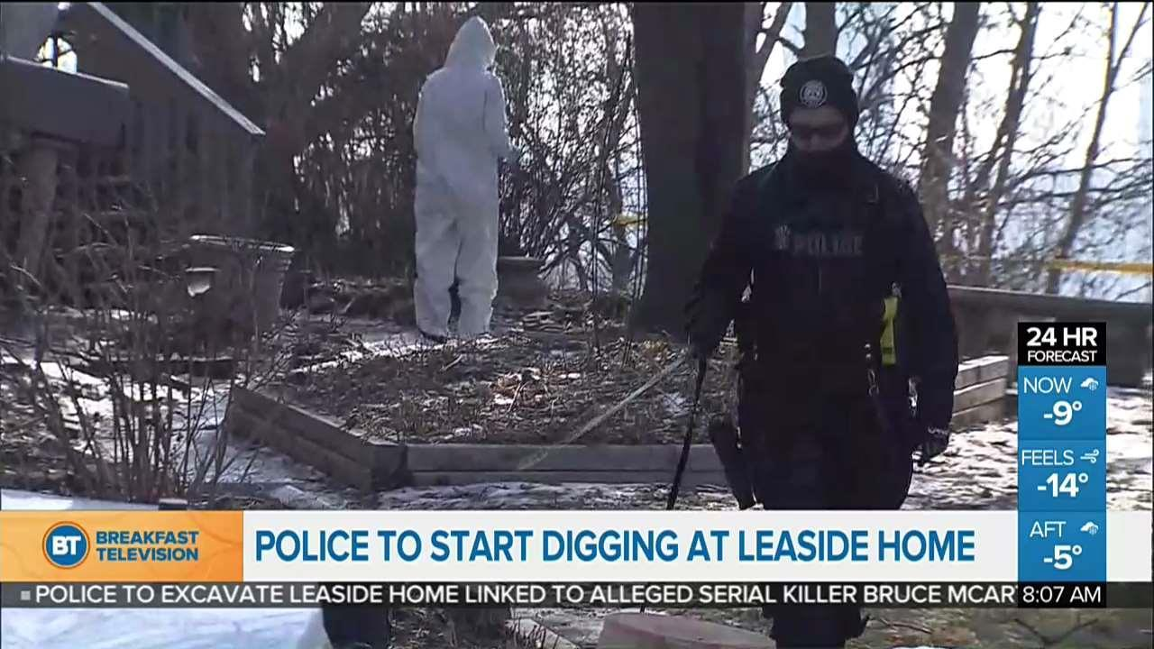 Digging expected to begin soon at home connected to Bruce McArthur