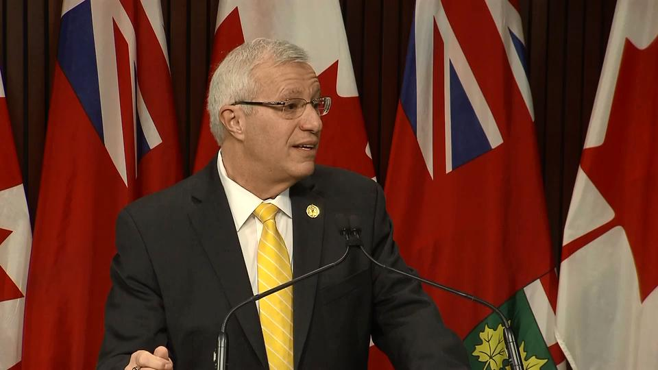 Tories ready to 'move on,' says Interim Leader Vic Fedeli