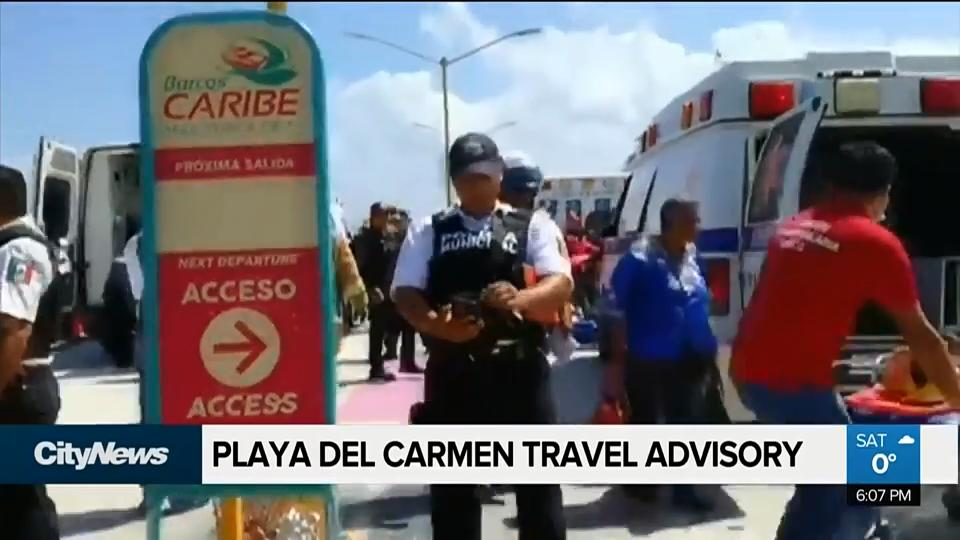 Canada issues travel warning for Playa del Carmen