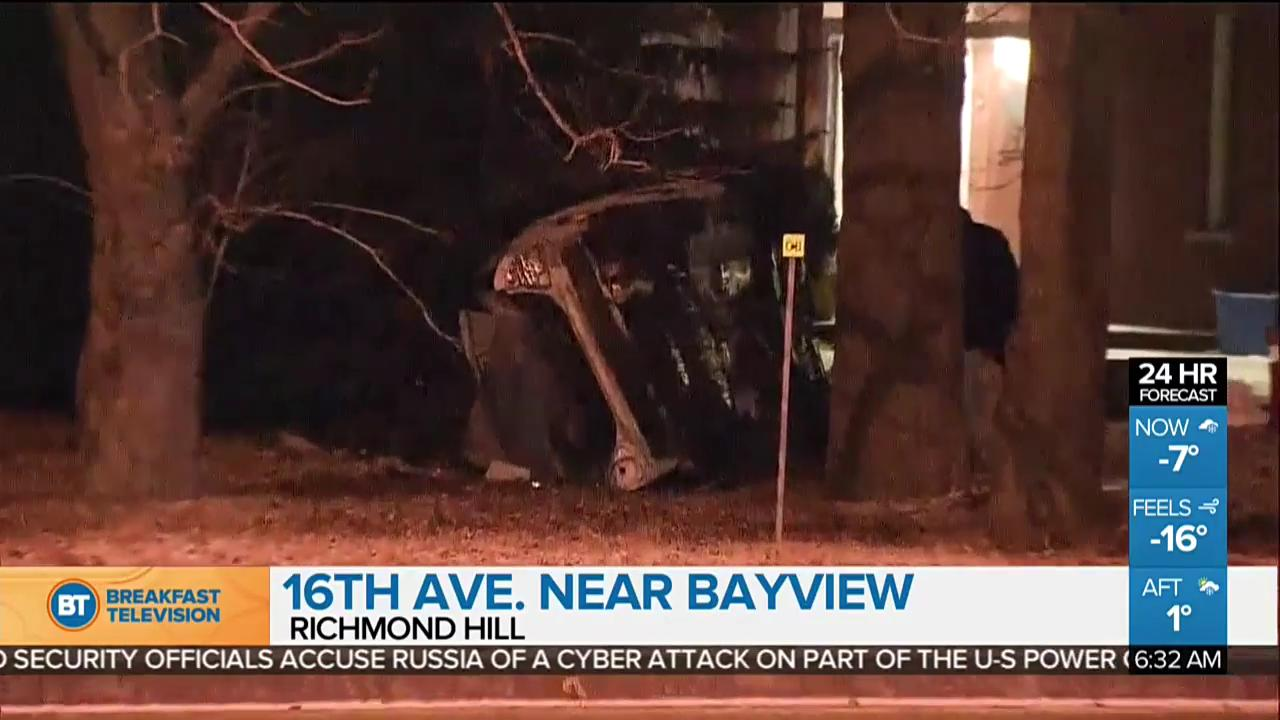 Top stories: Fatal crash in Richmond Hill