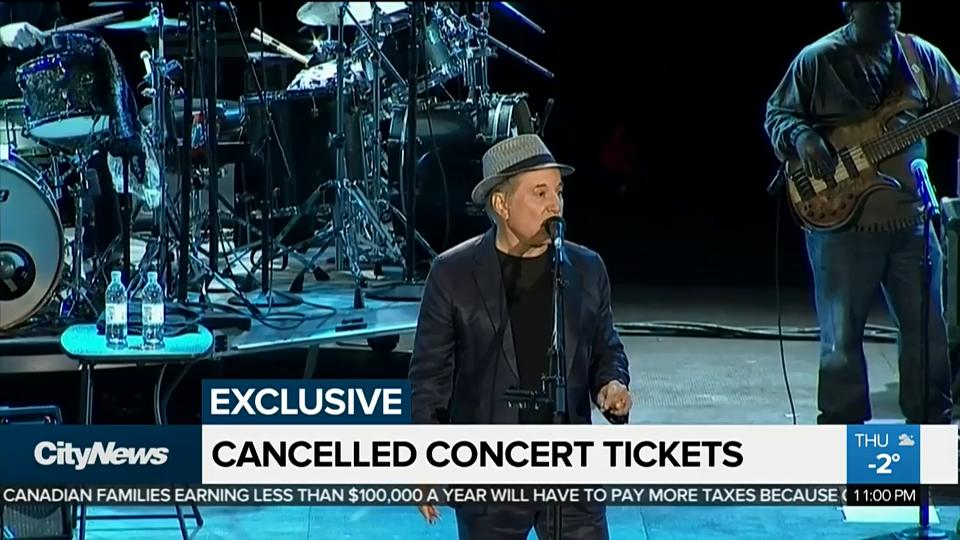 Ontario man upset after ticketmaster revokes concert ticket m4hsunfo