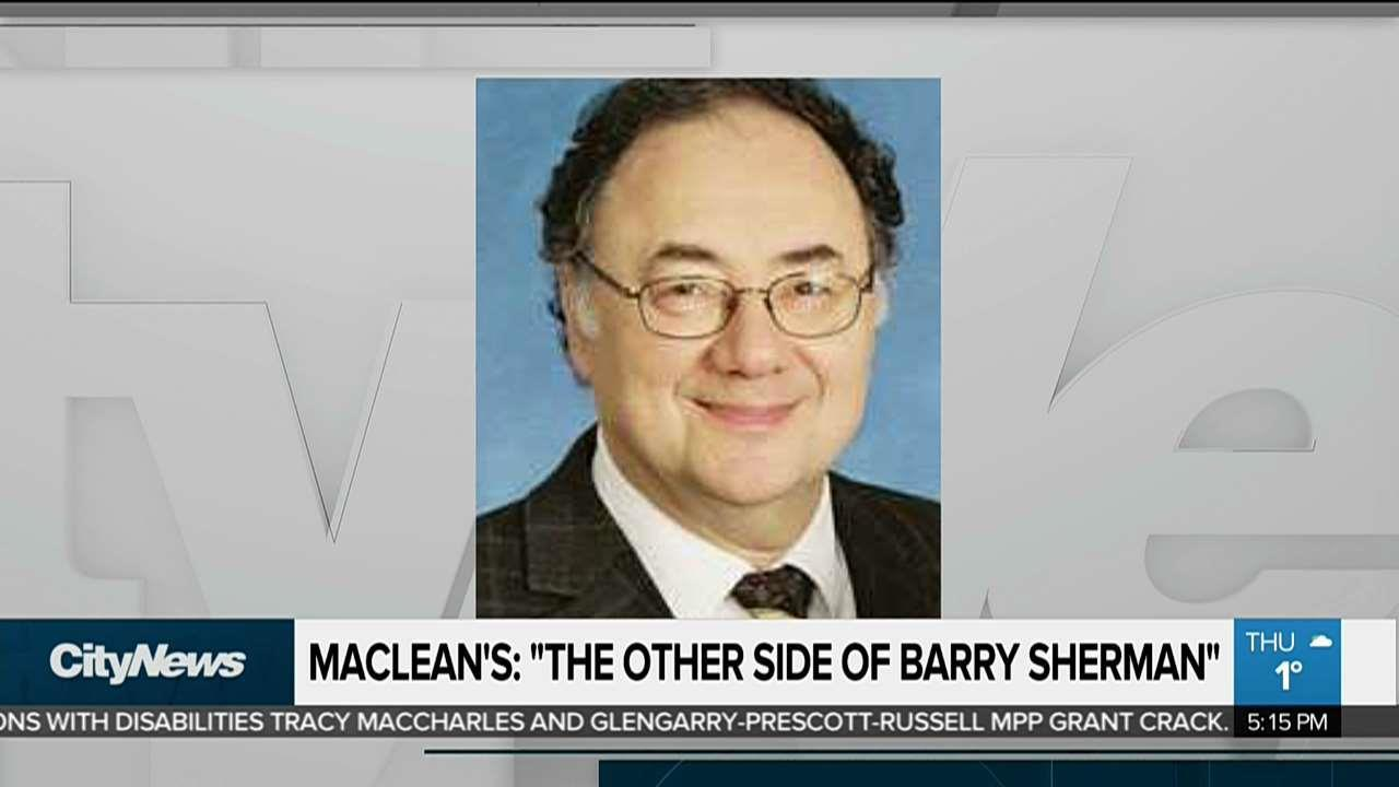 Maclean's investigation unveils side of Barry Sherman