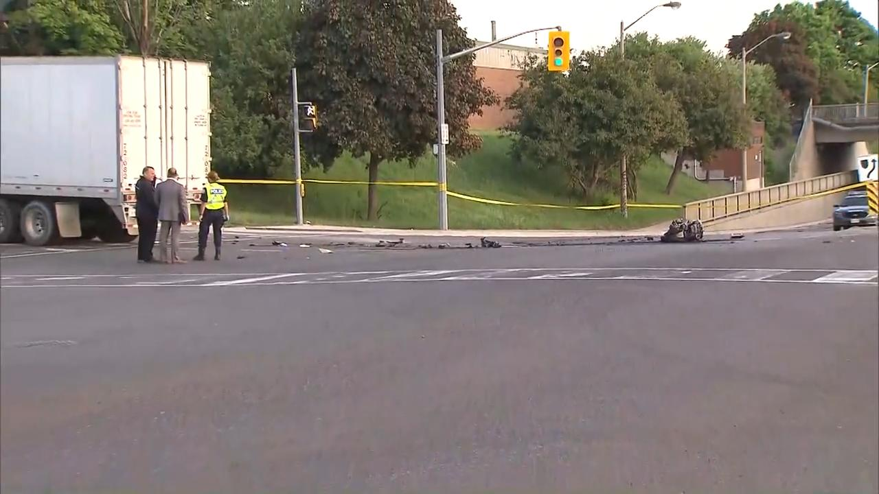 Motorcyclist killed in Rexdale crash
