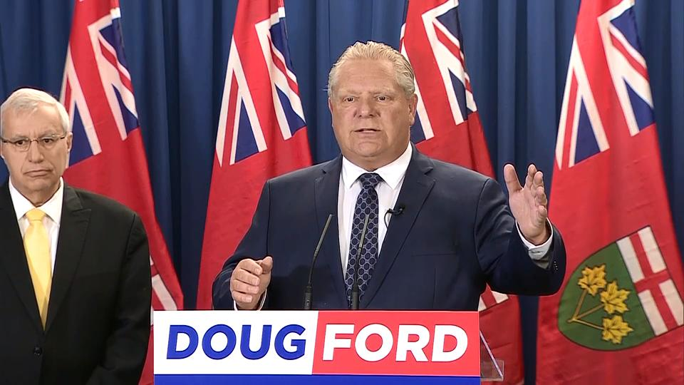 Doug Ford pledges tax cut for middle class