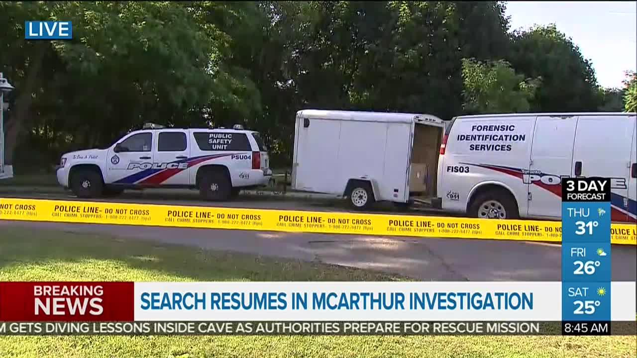 Excavation resumes at Leaside property connected to Bruce McArthur