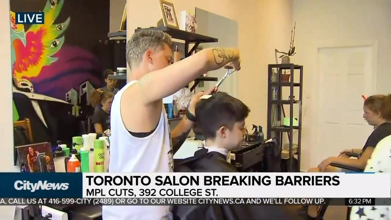 Hair Salon Offering Gender Neutral Cuts