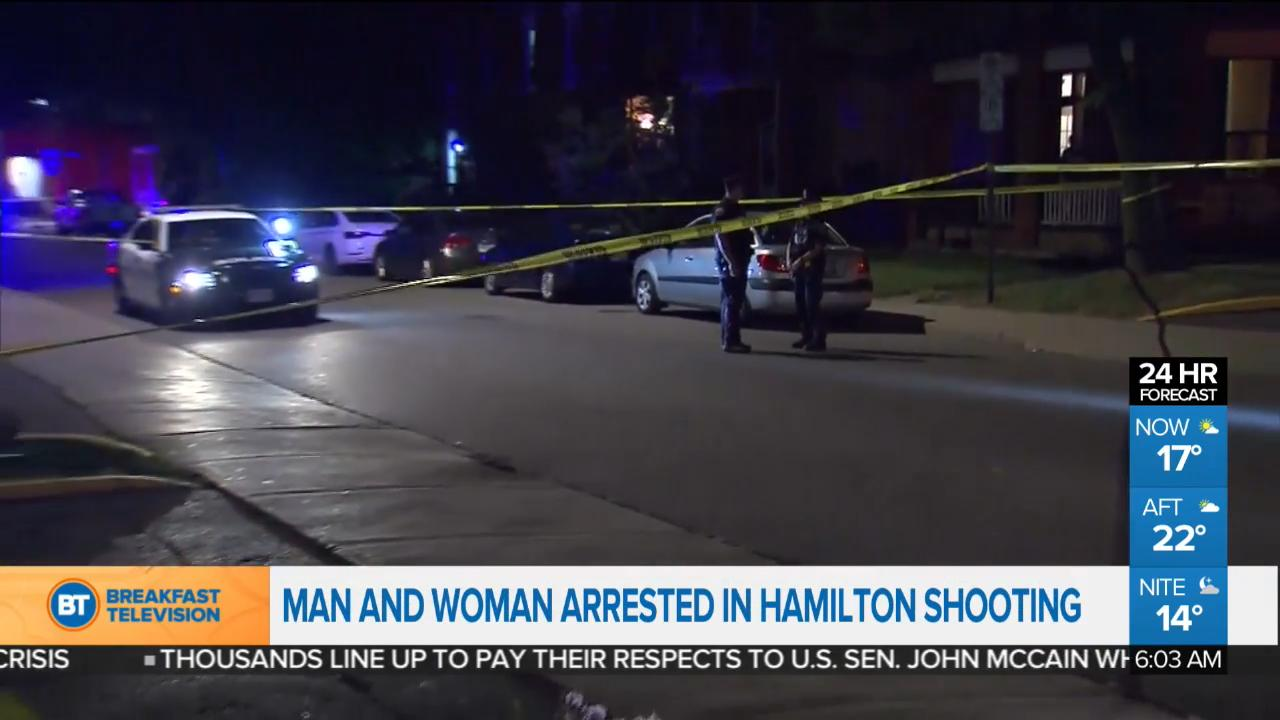 Double shooting in Hamilton, and other top stories