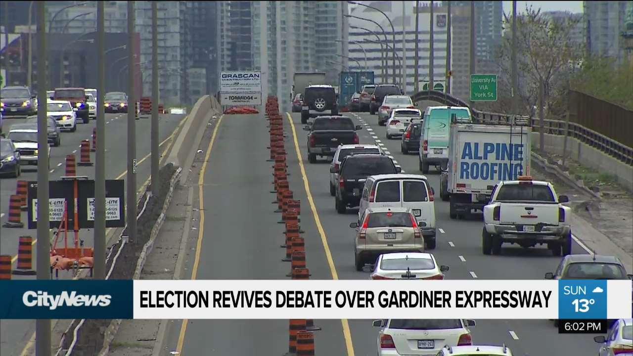 Keesmaat revives Gardiner debate with election promise