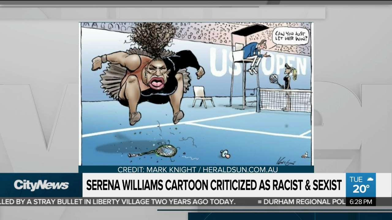 serena williams sexism