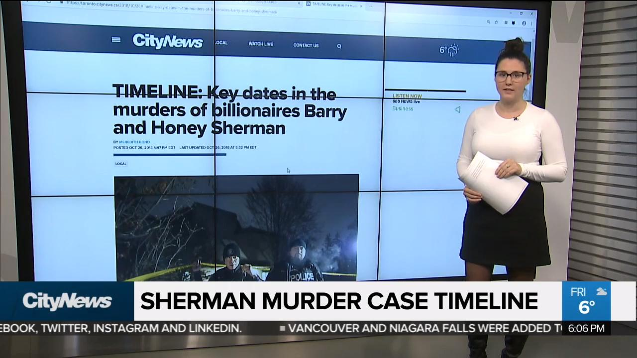 Timeline of the Barry and Honey Sherman murder investigation