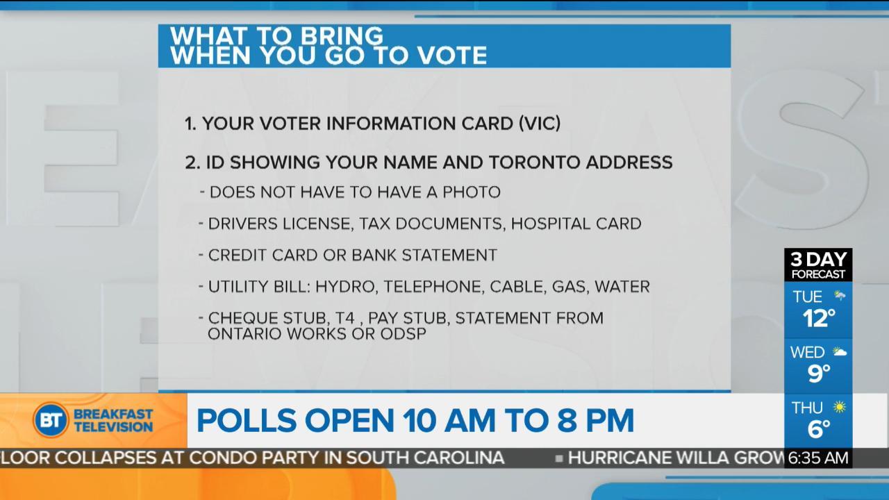Municipal election day across Ontario