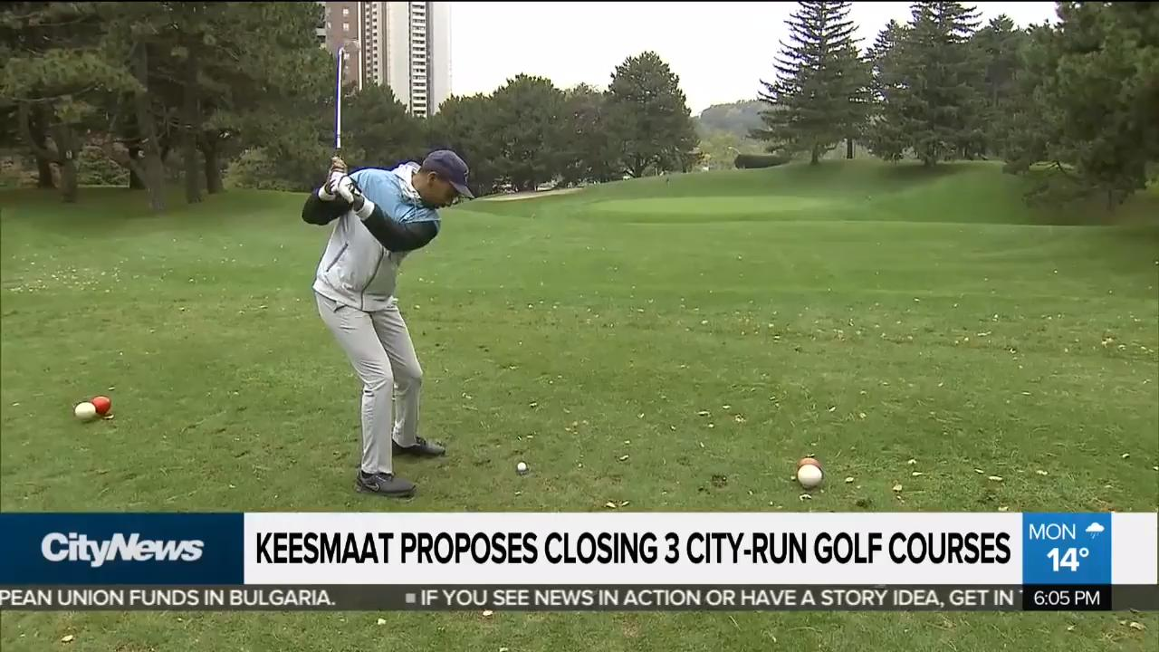 Keesmaat proposes closing 3 city-run golf courses