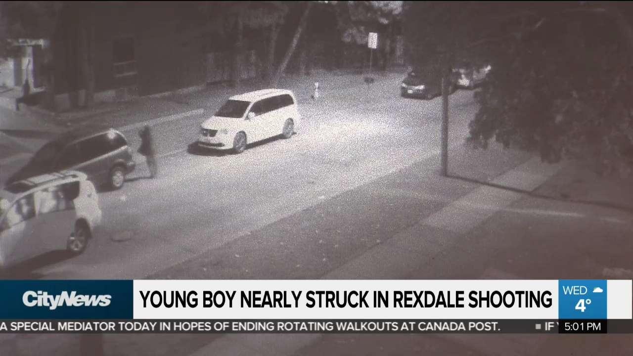 Video shows young boy in crossfire during Jamestown shooting