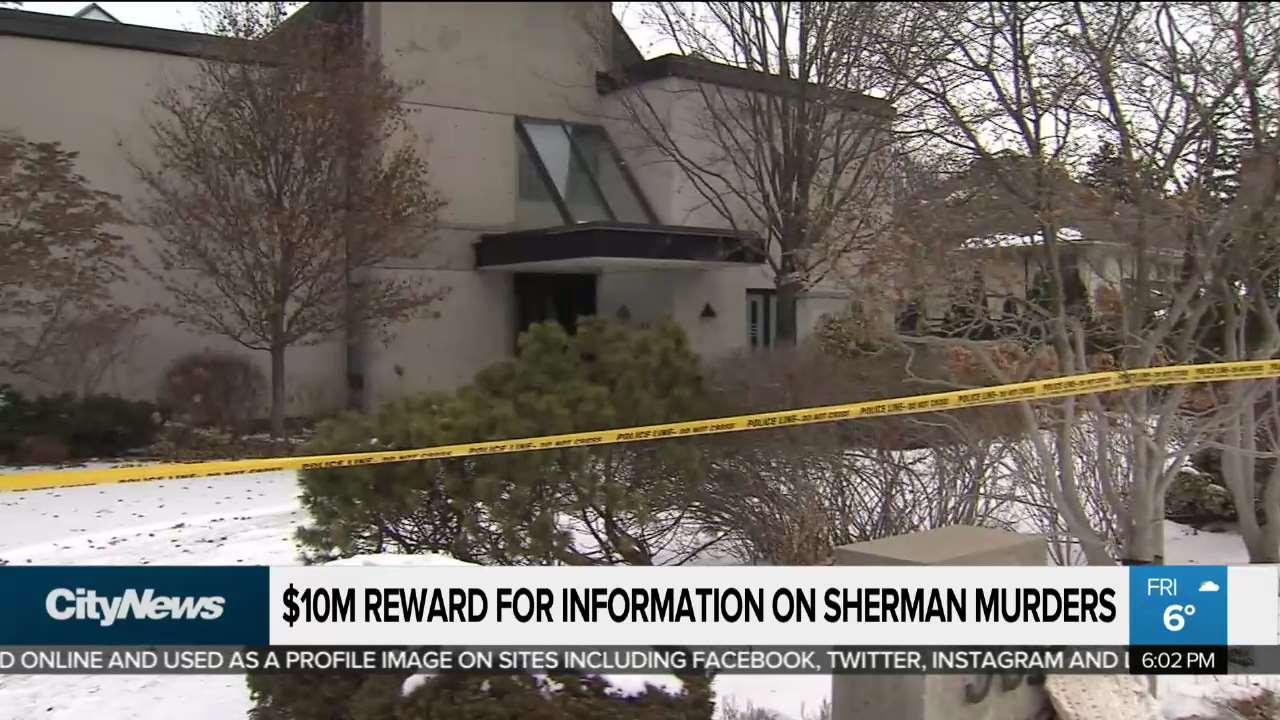 Sherman family offers $10 million reward