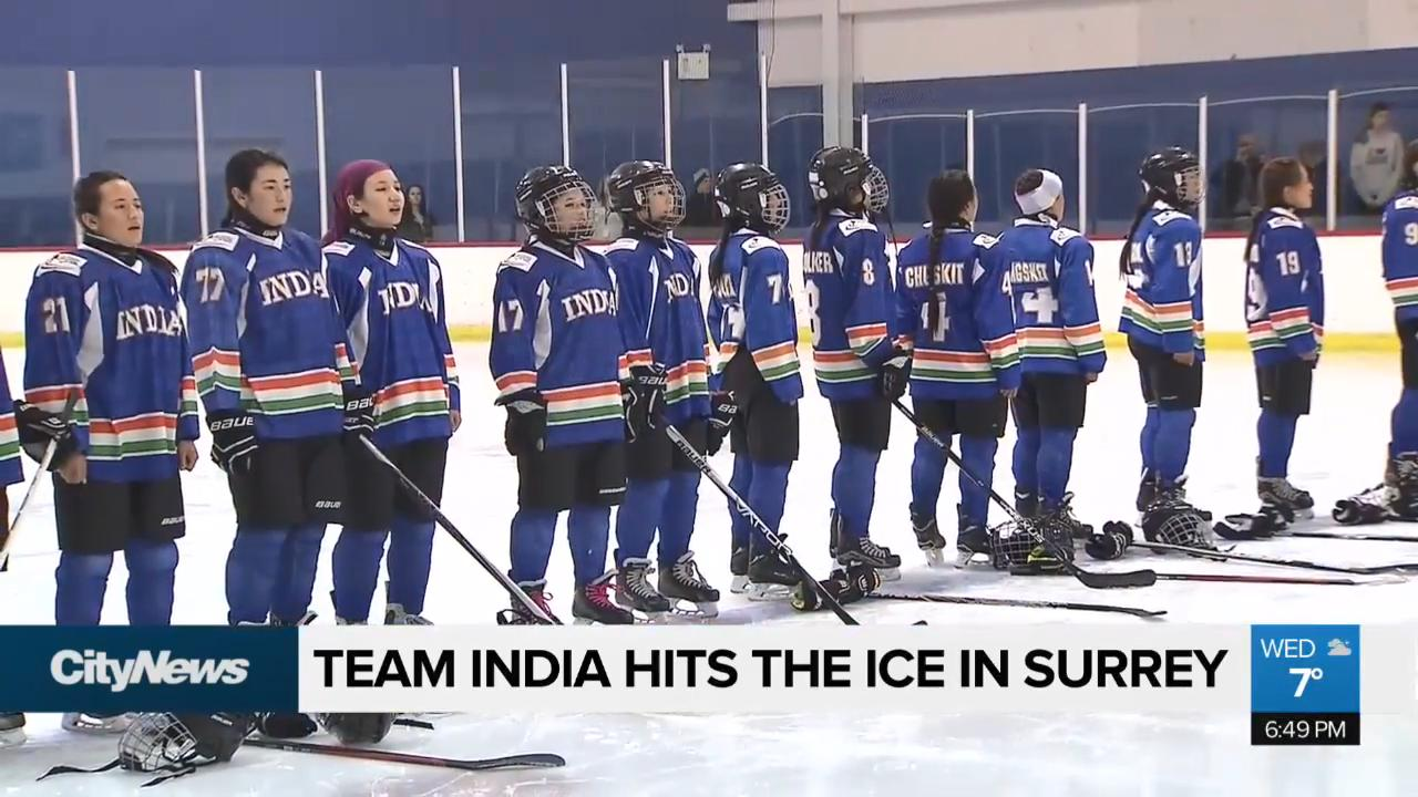Team India hits the ice in Surrey - NEWS 1130