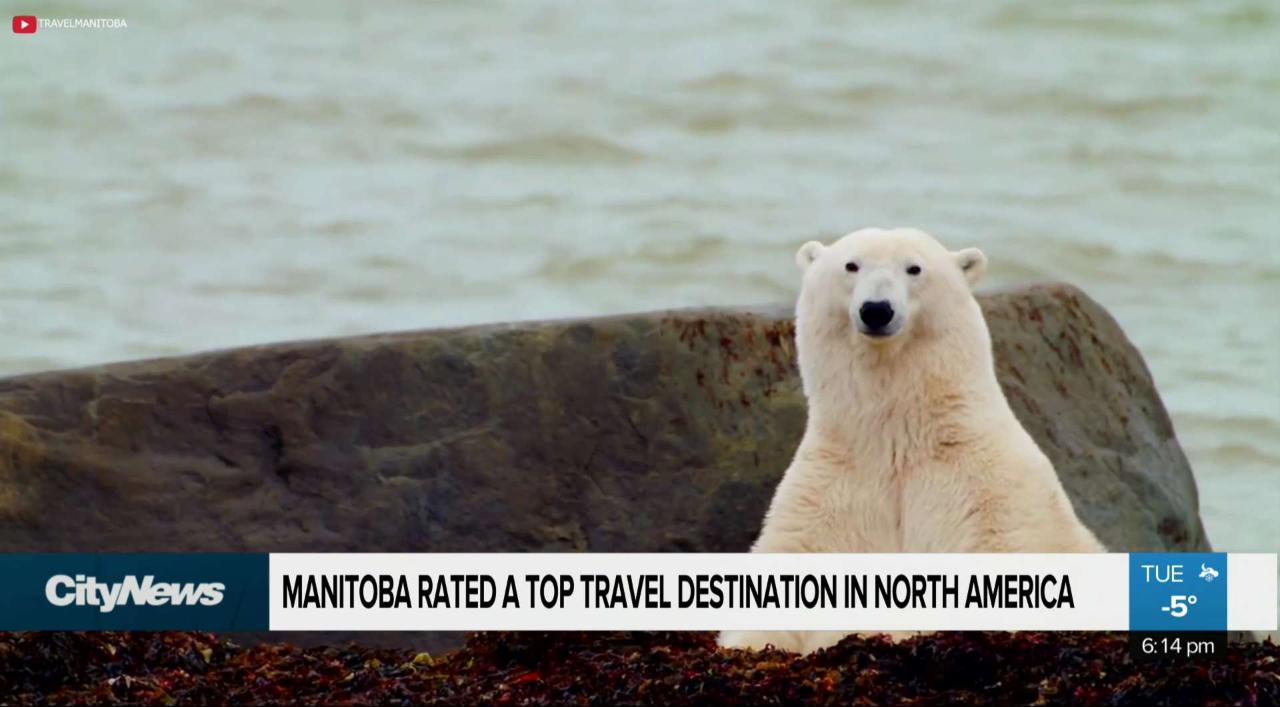 Manitoba voted top travel destination in North America
