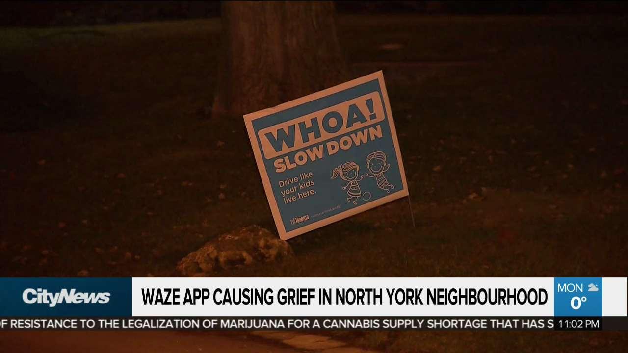 Waze causing headaches for North York neighbourhood