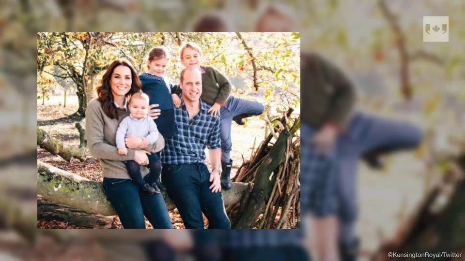 Royal Family Christmas Card 2019 British Royal families release Christmas card photos