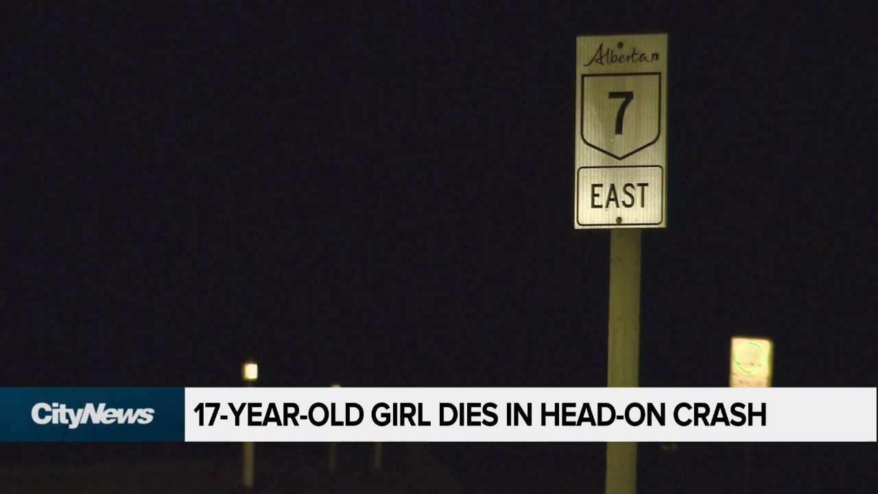 17-year-old girl dies in head-on crash