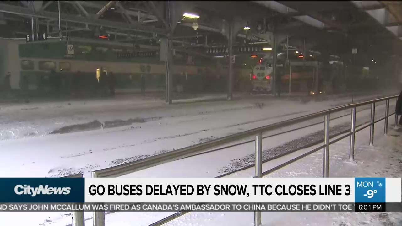 Blizzard Causing Multiple Commuter Delays