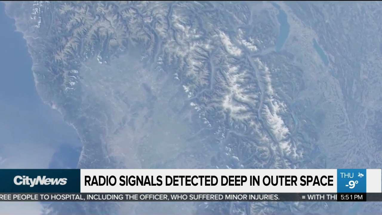 Mysterious radio signals detected deep in outer space - NEWS 1130