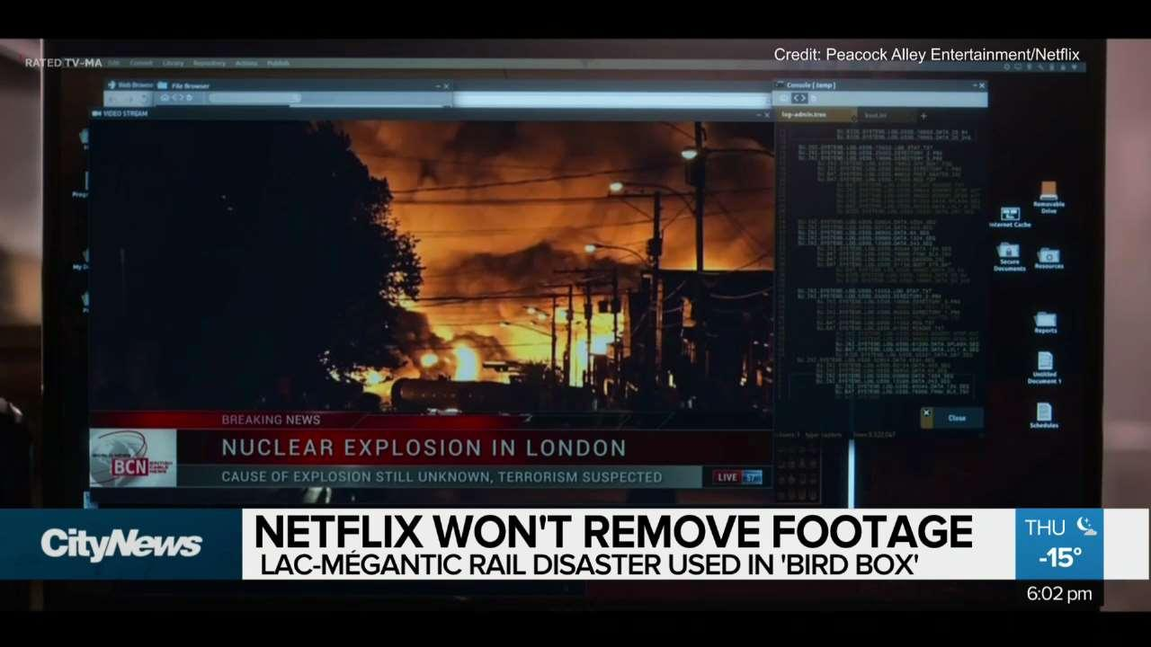 Netflix Refuses to Remove Footage