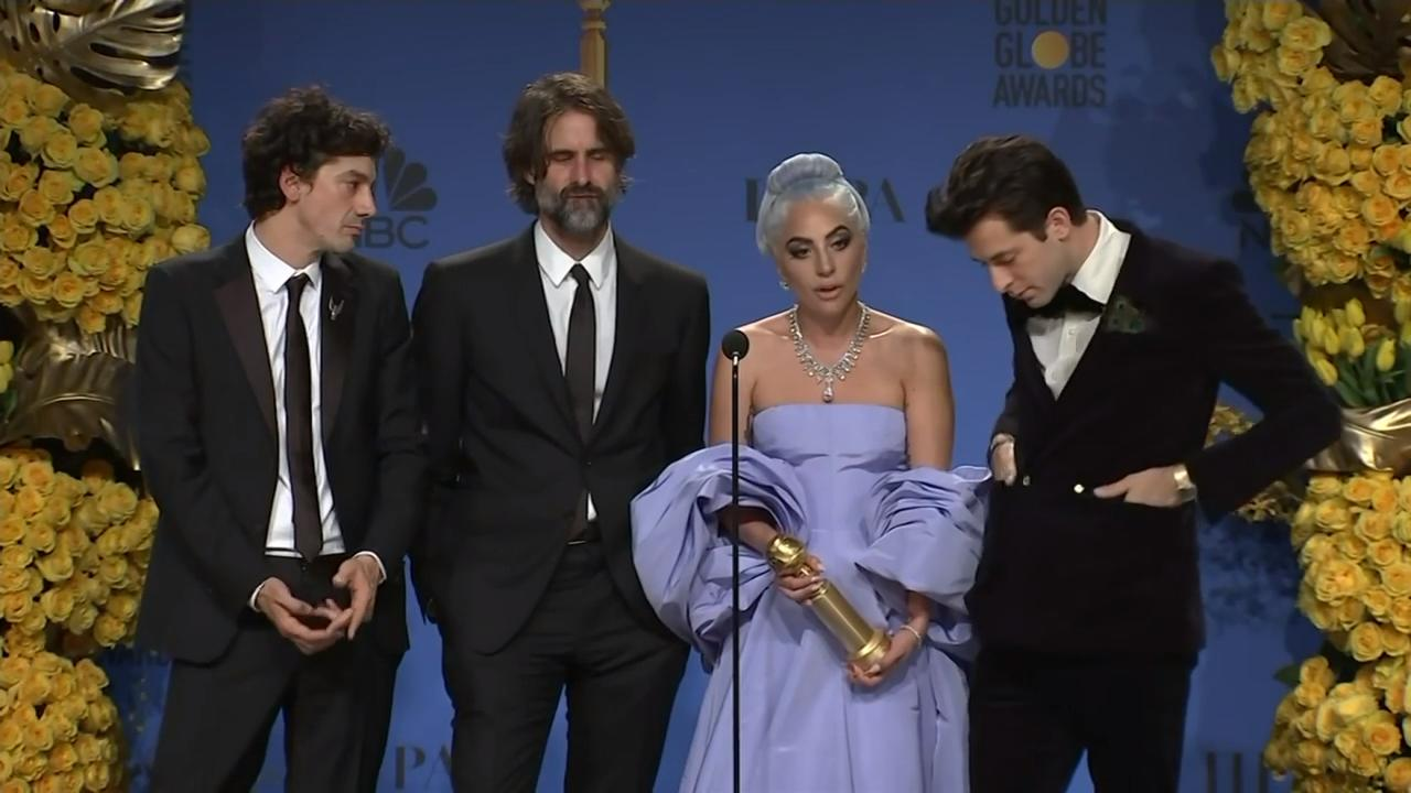 After Globe win for best song, Lady Gaga credits director Bradley
