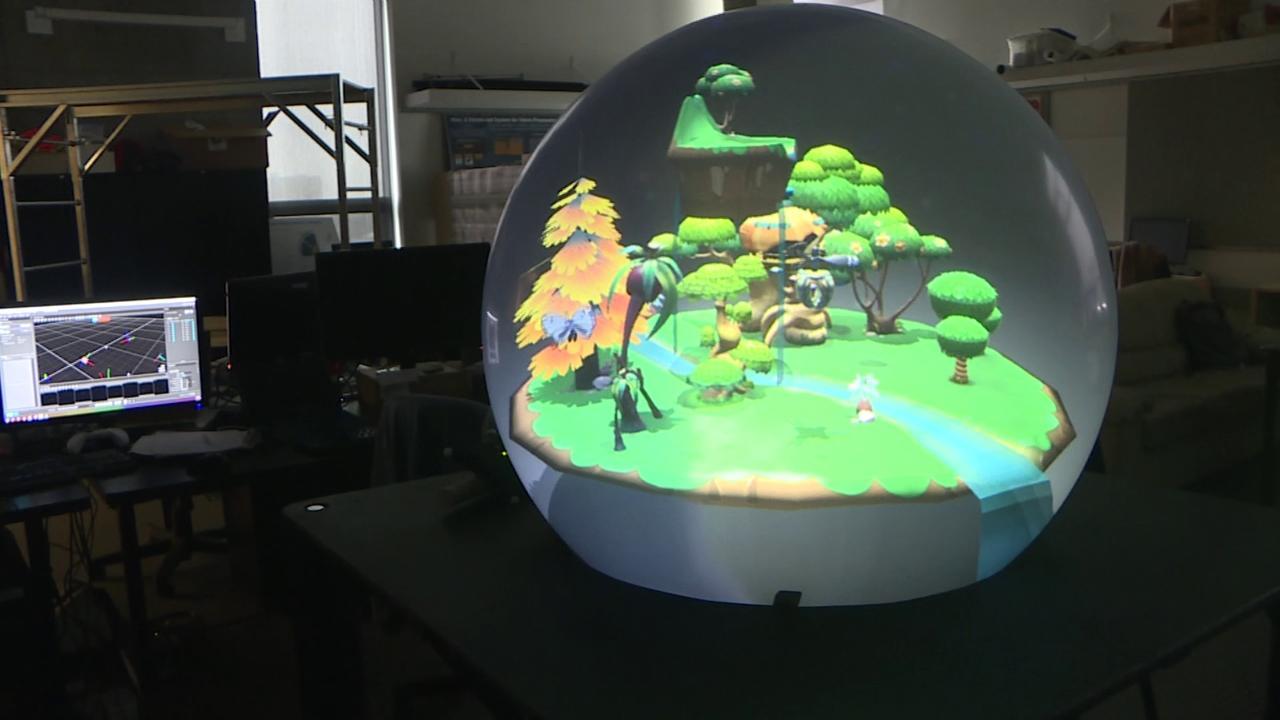 """Crystal ball"" takes virtual reality to next level"