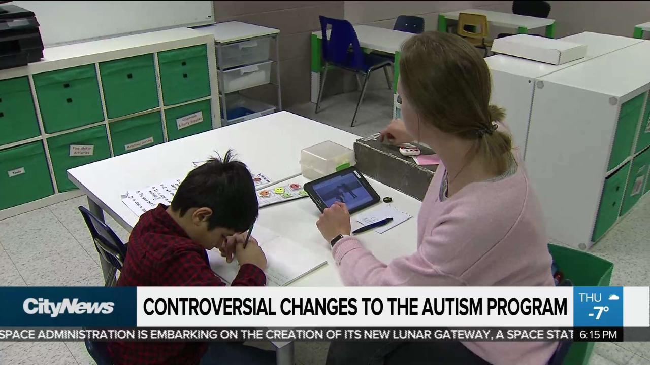Parents face fear, uncertainty over autism program changes