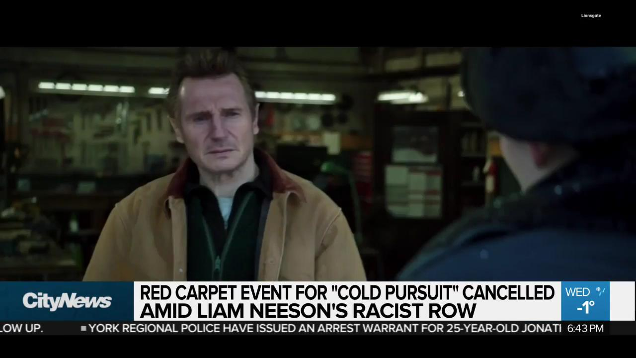Liam Neeson denies being racist after revenge remarks