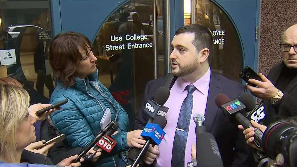 Lawyer of officer charged in McArthur probe speaks out