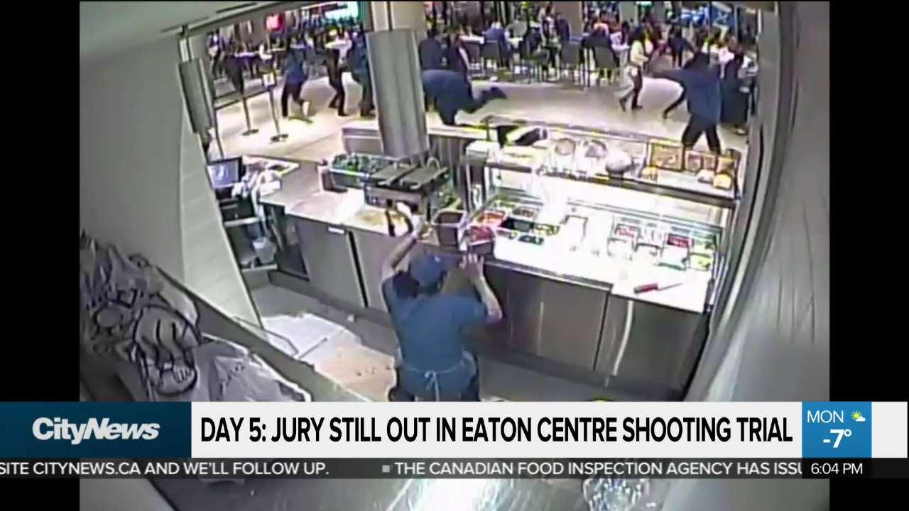 No verdict yet from Eaton Centre shooter jury