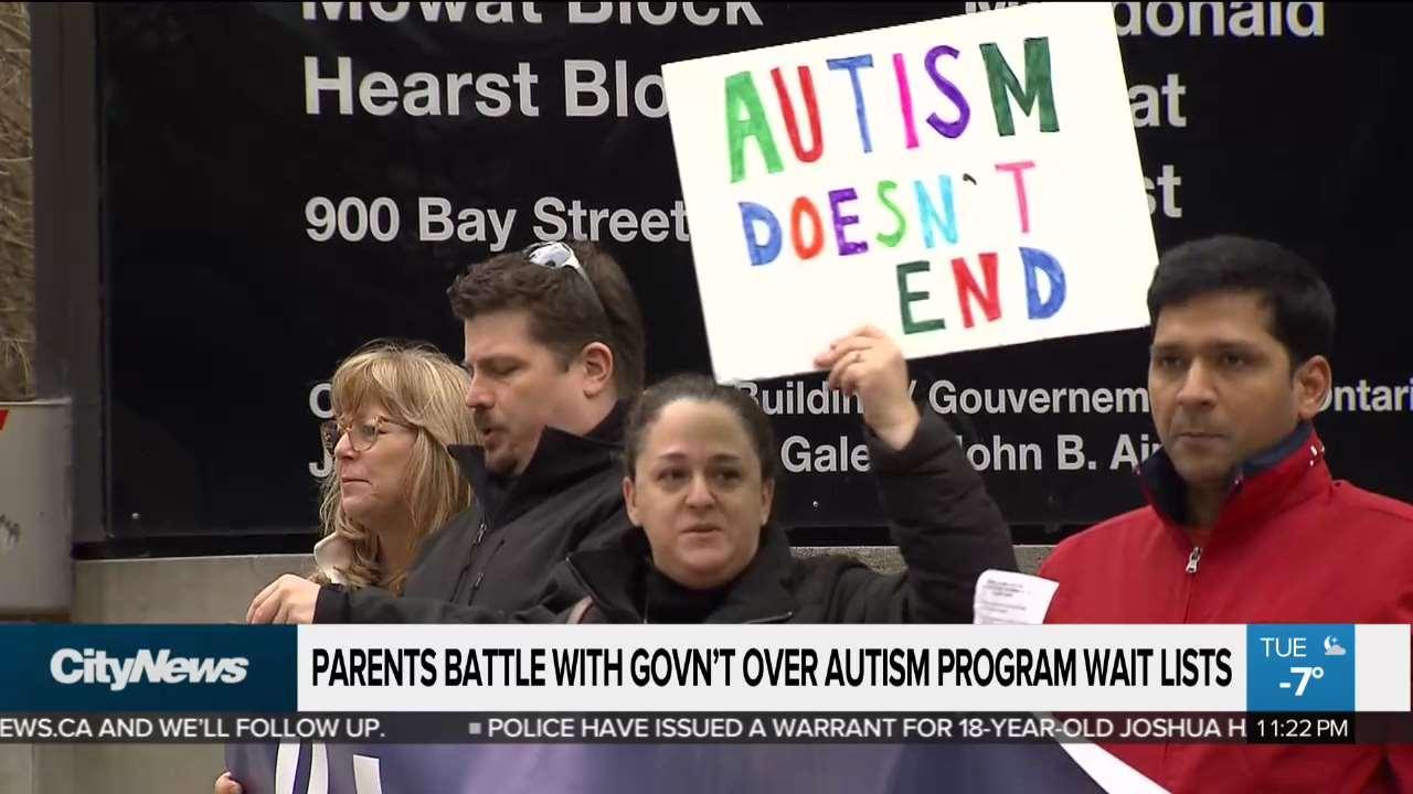 Parents battle government over autism wait lists