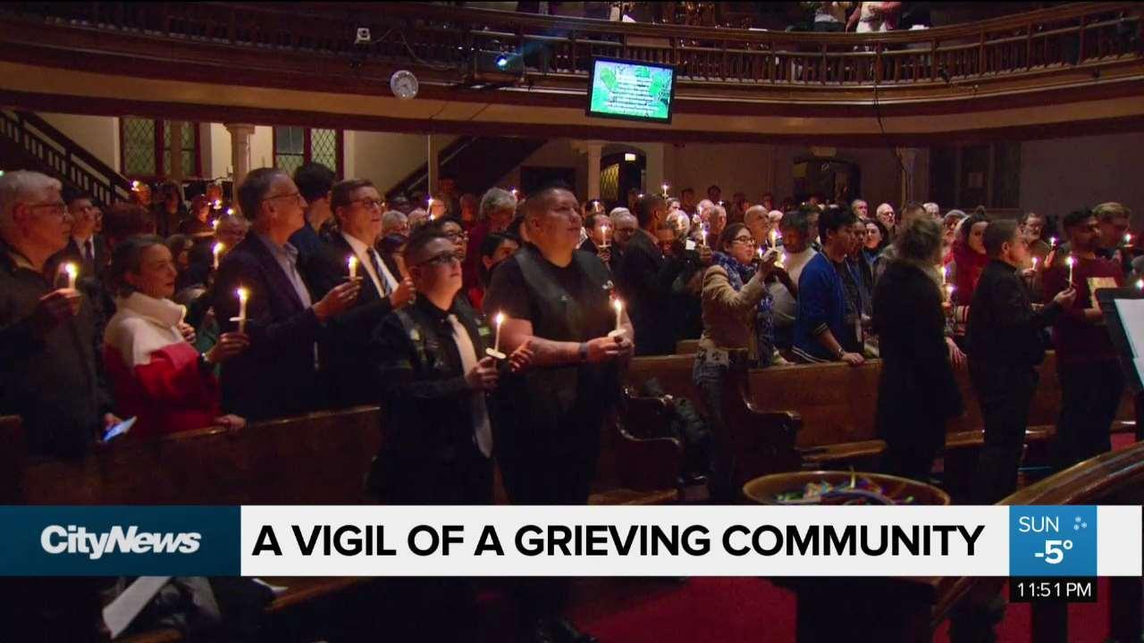 Vigil held for serial killer Bruce McArthur's victims