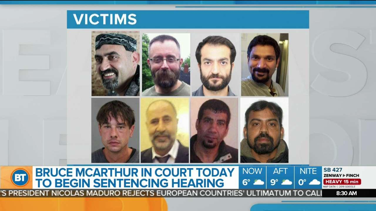 Emotional day ahead at Bruce McArthur sentencing hearing