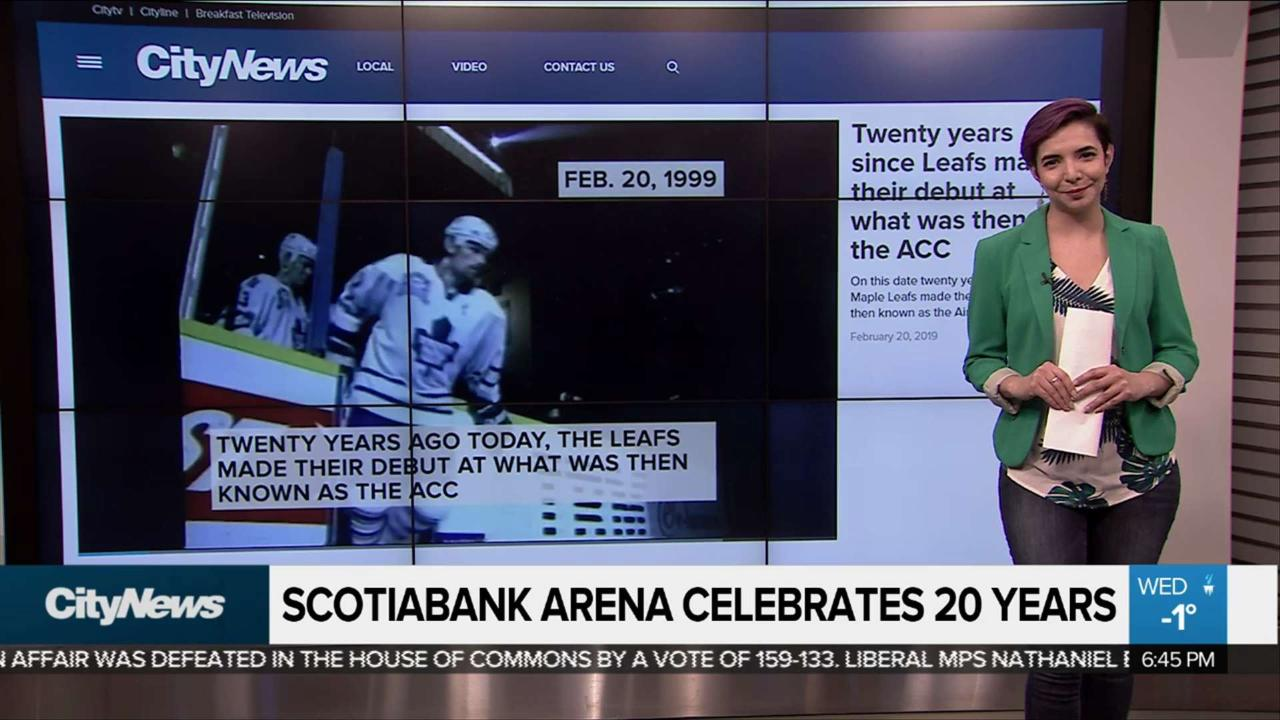 Scotiabank Arena turns 20 years old