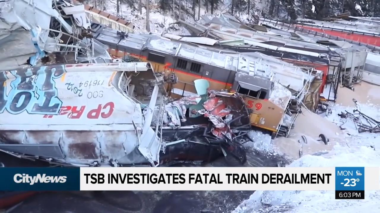TSB says derailed train began to move on its own - 660 NEWS