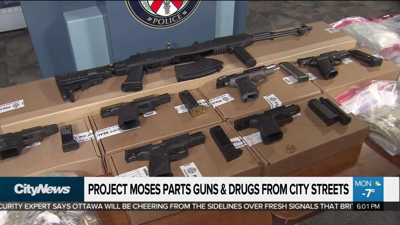 1 arrested, 2 wanted in Toronto and Ottawa 'Project Moses' drug