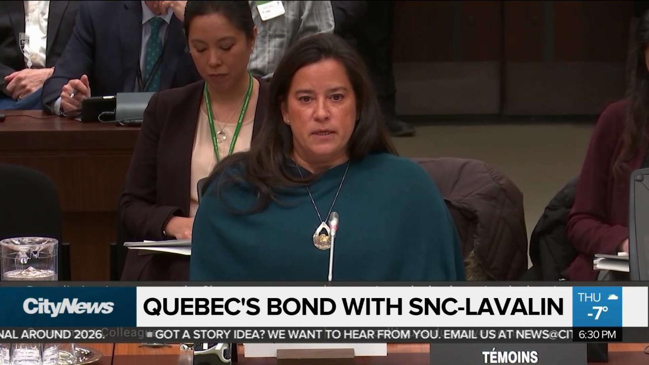 Quebec's bond with SNC-Lavalin