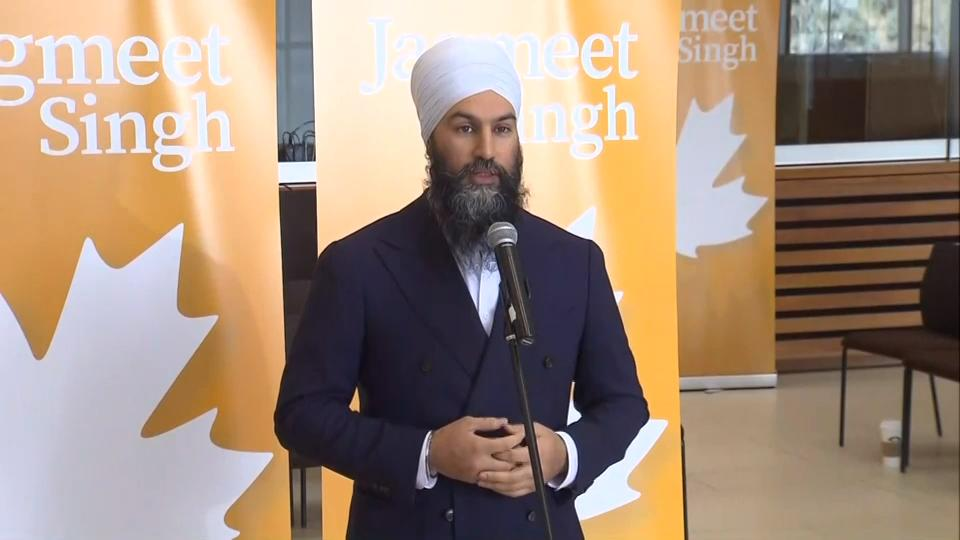'Disappointed' Trudeau did not apologize for SNC-Lavalin affair: Jagmeet Singh
