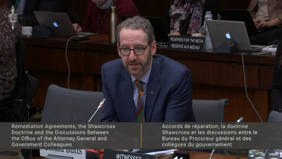 Gerald Butts testifies at House justice committee: Full opening statement