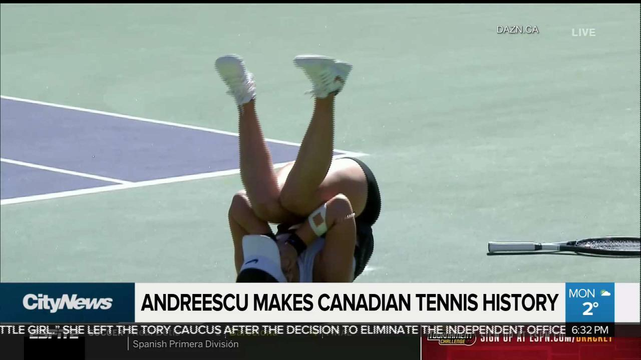 238e00ead Canadian tennis players inspired by Andreescu win