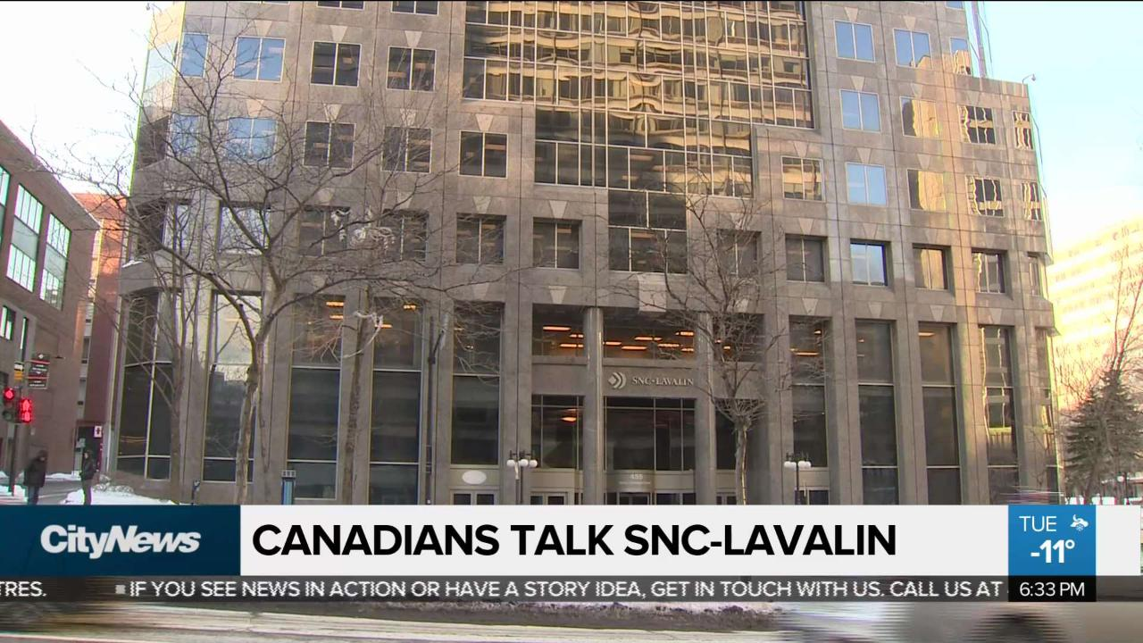 Canadians weigh in on SNC-Lavalin scandal